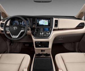 2018 Toyota Sienna Interior