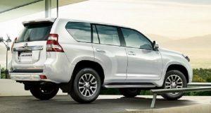 2018 Toyota Land Cruiser Exterior