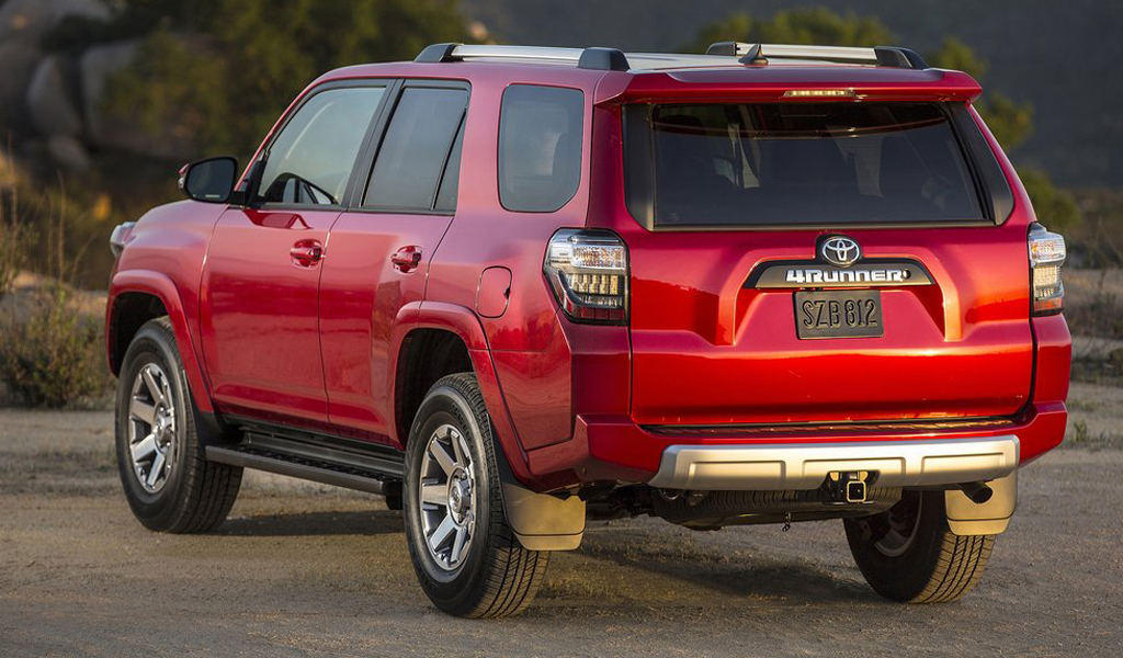 2021 Toyota 4runner Exterior