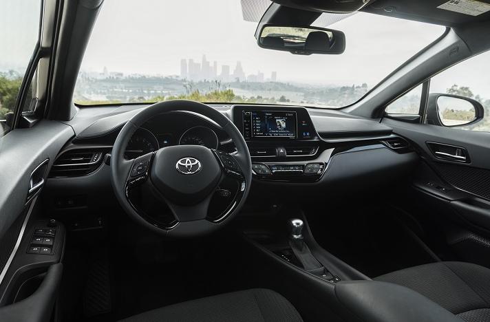 2019 Toyota CHR Interior