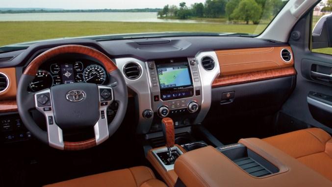 2020 Toyota Tundra Interior