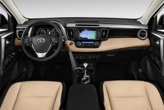 Attractive 2019 Toyota RAV4 Interior