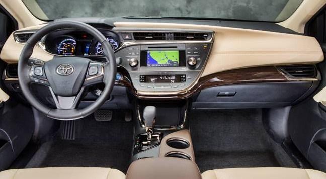2025 Toyota Avalon Interior
