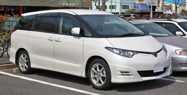 2021 Toyota Estima Exterior