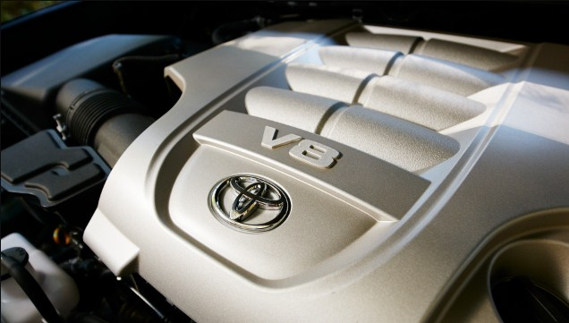 2020 Toyota Land Cruiser Engine
