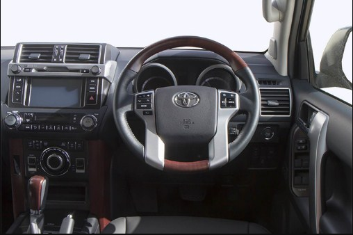 2020 Toyota Land Cruiser Interor