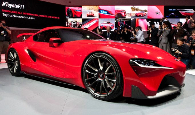 2021 Toyota FT-1 Exterior