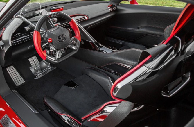 2021 Toyota FT-1 Interior
