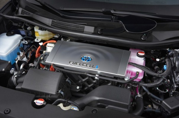 2021 Toyota Mirai Engine