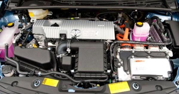 2021 Toyota Prius C Engine