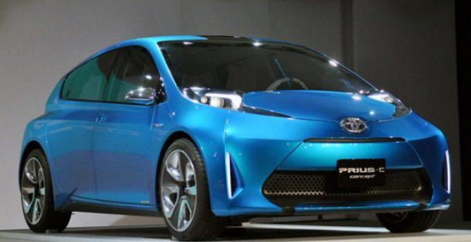 2021 Toyota Prius C Exterior