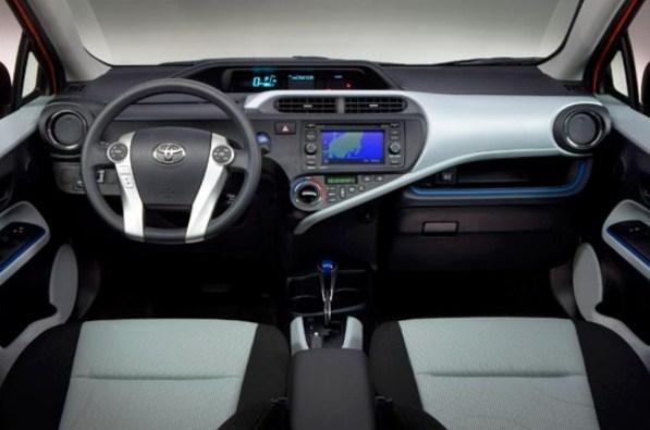 2021 Toyota Prius C Interior