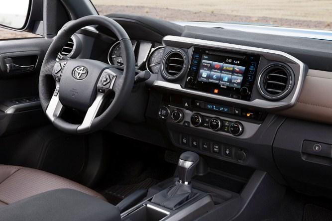 2020 Toyota Tacoma Interior