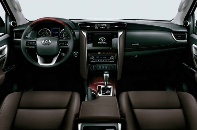 2020 Toyota Fortuner Interior