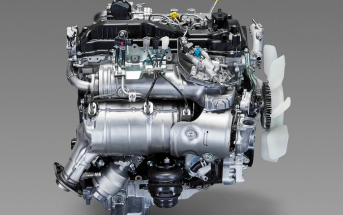 2020 Toyota Hiace Engine