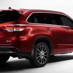 2021 Toyota Highlander Back