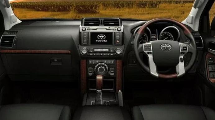2022 Toyota Prado Interior