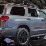 2019 Toyota Sequoia Exterior