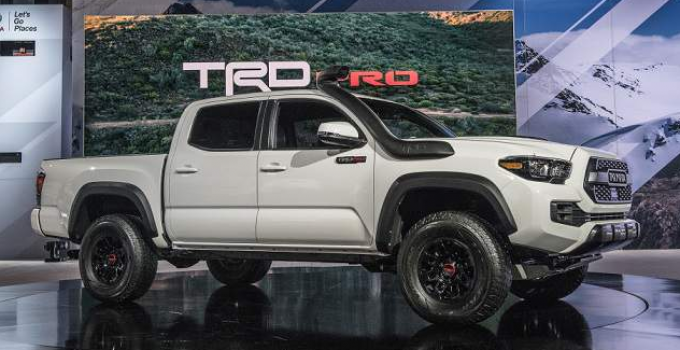 2019 Toyota Tacoma Exterior