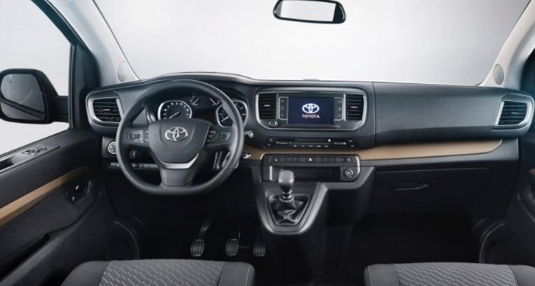 2020 Toyota Hiace Interior