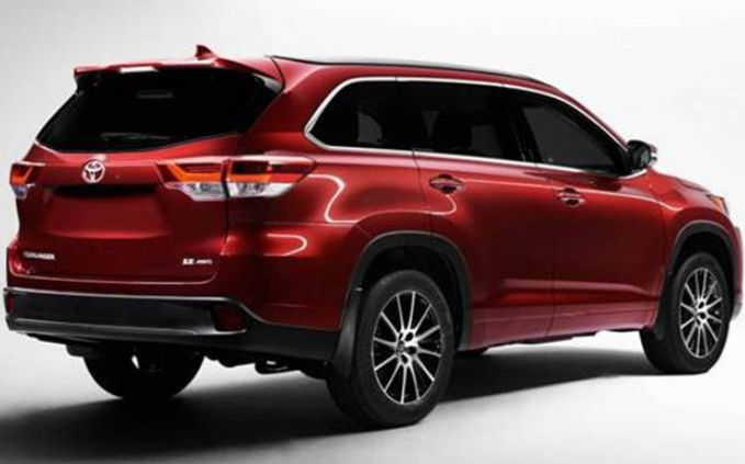 2020 Toyota Highlander Back