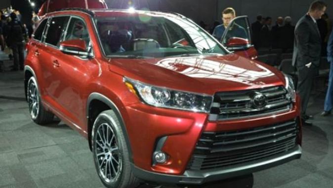 2020 Toyota Kluger Design