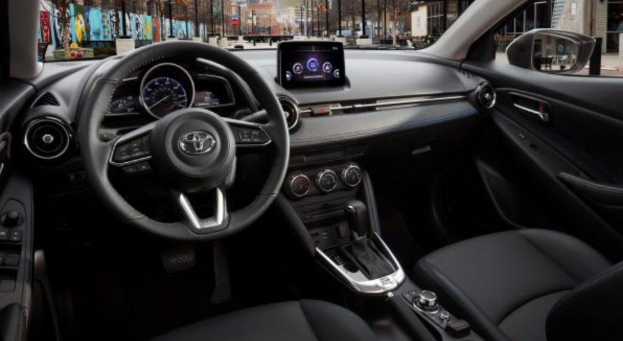 2020 Toyota Yaris Sedan Interior