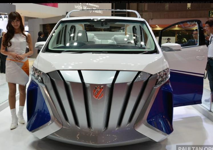 Toyota Alphard 2020 Design