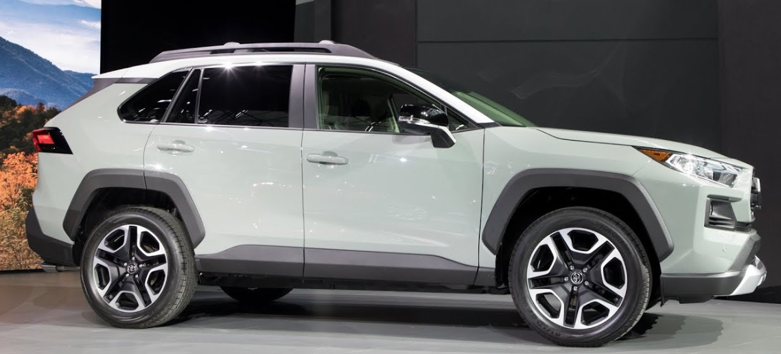 Toyota Rav4 2019 Exterior