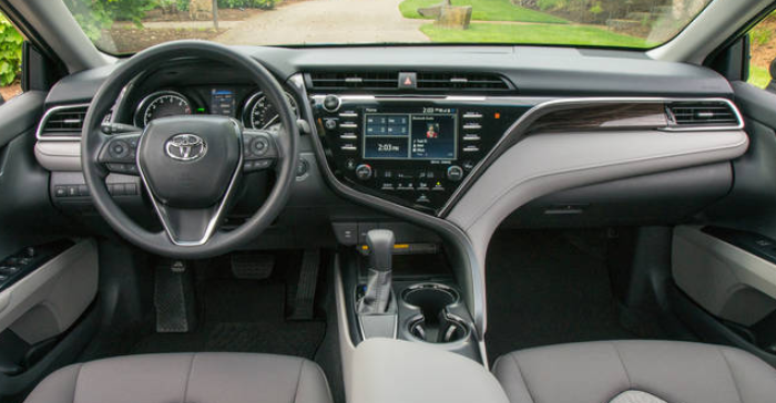 2019 Toyota Camry SE Interior