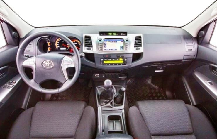 2021 Toyota Diesel Hilux Interior