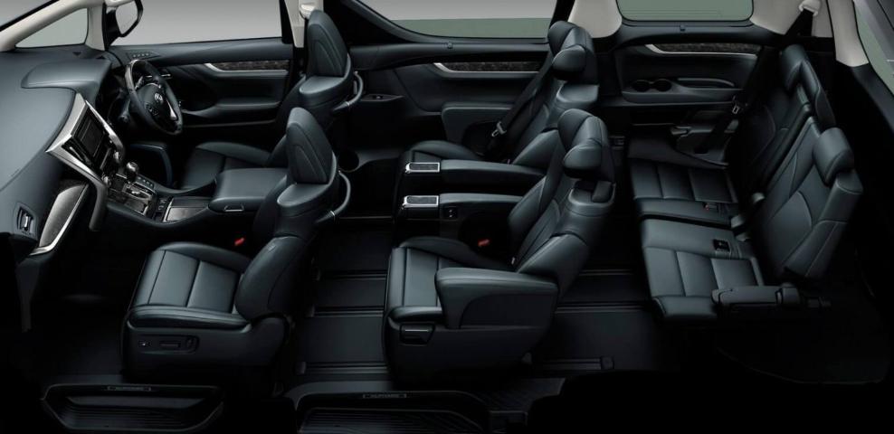 2019 Toyota Estima Interior