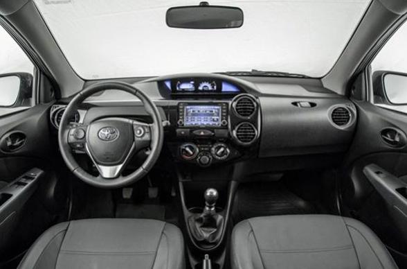 2019 Toyota Etios Interior