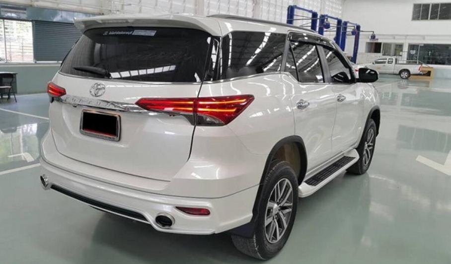 2019 Toyota Fortuner Exterior