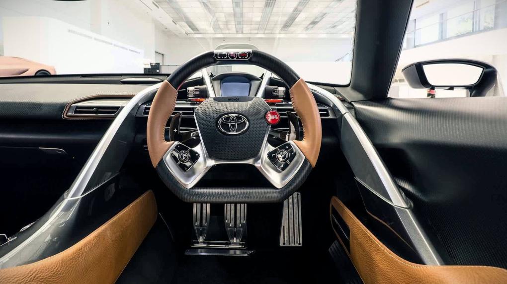 2019 Toyota Ft-1 Interior