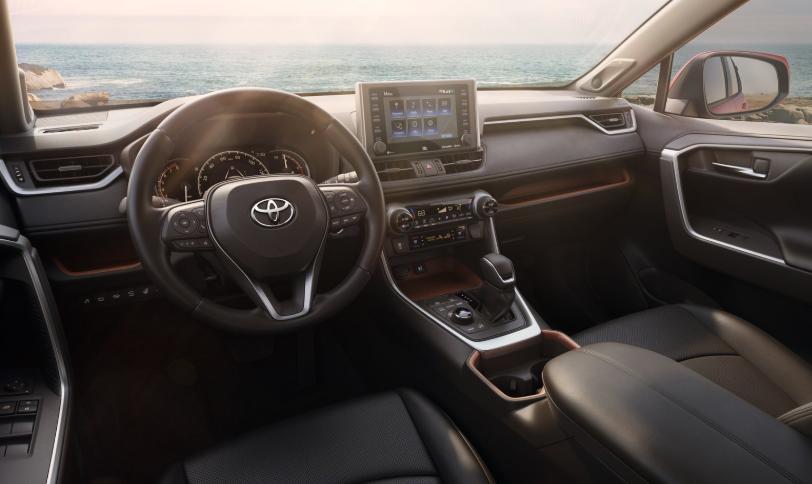 2019 Toyota RAV4 Hybrid Interior
