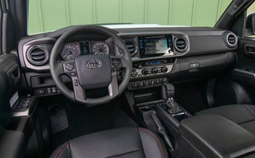 2021 Toyota Tacoma Diesel Interior