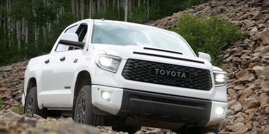 2021 Toyota Tundra TRD Pro Exterior