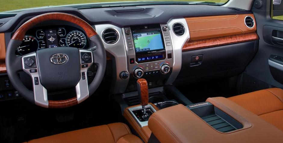 2019 Toyota Tundra TRD Pro Interior
