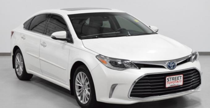2022 Toyota Avalon Exterior