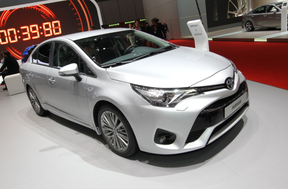 2022 Toyota Avensis Exterior