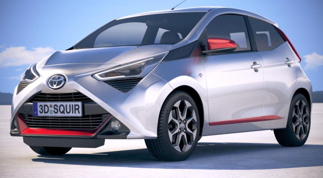 2022 Toyota Aygo Exterior