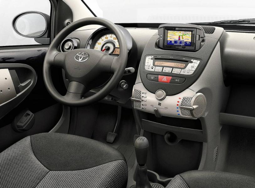 2022 Toyota Aygo Interior