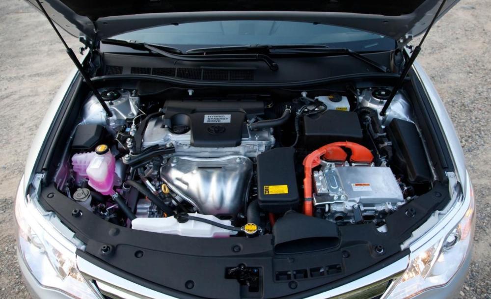 2022 Toyota Camry Engine
