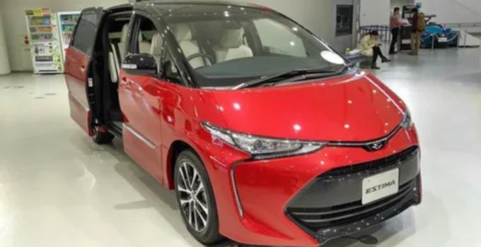 2022 Toyota Estima Exterior