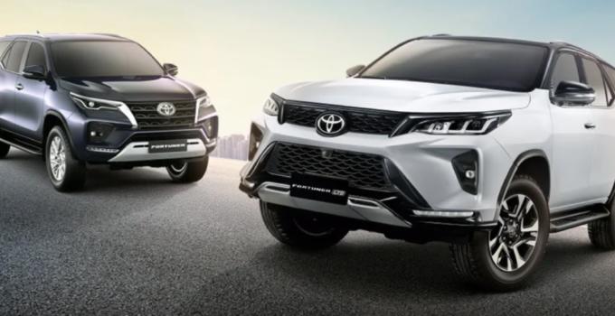 2022 Toyota Fortuner Exterior