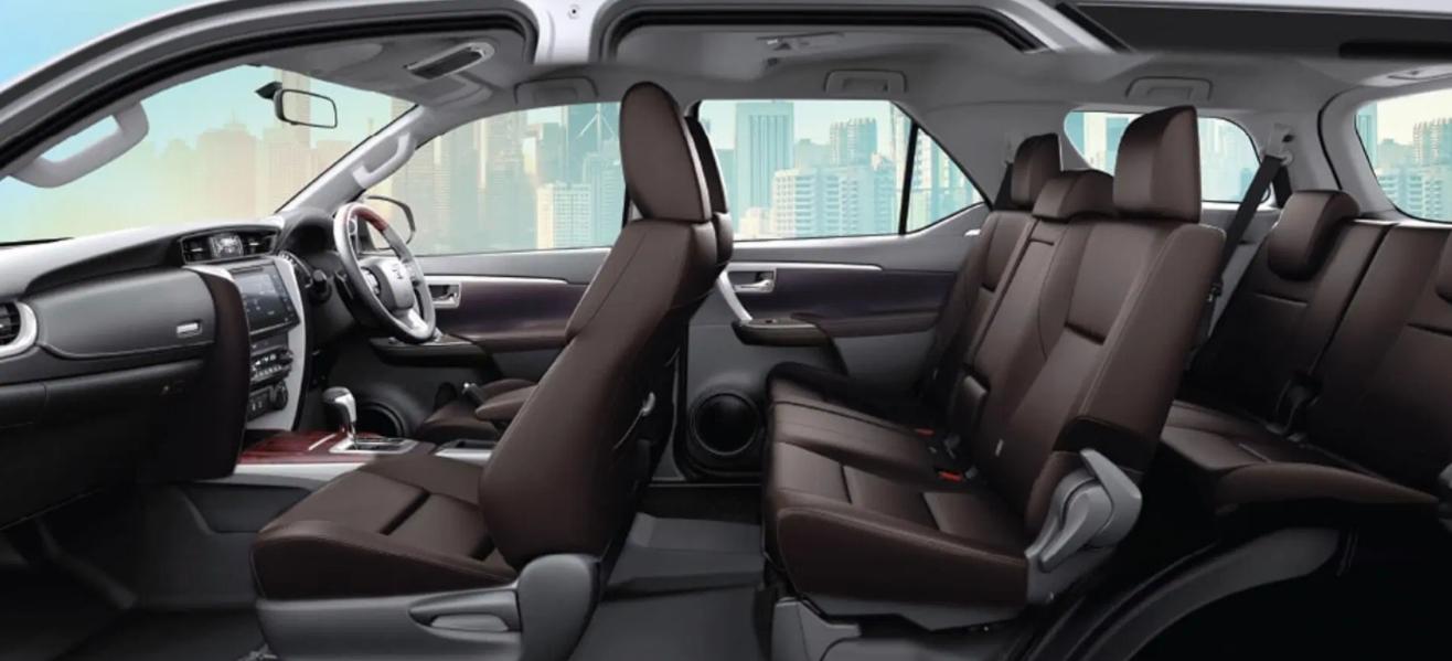 2022 Toyota Fortuner Interior