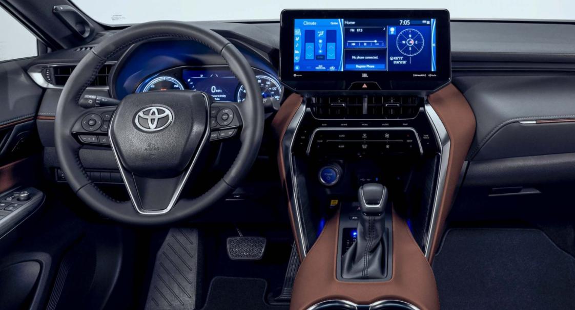 2022 Toyota Harrier Interior