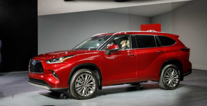 2022 Toyota Highlander Exterior