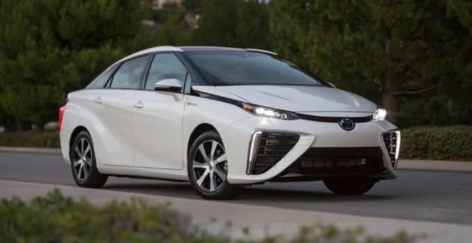 2022 Toyota Mirai Exterior